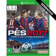 PES 2017 - Xbox One (Seminovo)