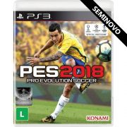 PES 2018 - PS3 (Seminovo)