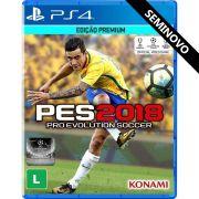 PES 2018 - PS4 (Seminovo)