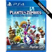 Plants vs Zombies Batalha por Neighborville - PS4 (Seminovo)