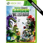 Plants vs Zombies: Garden Warfare - Xbox 360 (Seminovo)