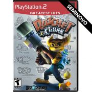 Ratchet e Clank (Greatest Hits) - PS2 (Seminovo)