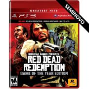 Red Dead Redemption Game of the Year Edition - PS3 (Seminovo)