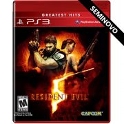 Resident Evil 5 - PS3 (Seminovo)