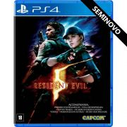 Resident Evil 5 - PS4 (Seminovo)