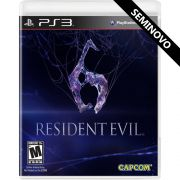 Resident Evil 6 - PS3 (Seminovo)