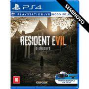 Resident Evil 7 Biohazard - PS4 (Seminovo)