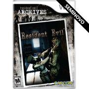 Resident Evil Archives: Resident Evil - Wii (Seminovo)
