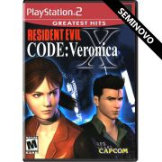 Resident Evil Code Veronica X (Greatest Hits) - PS2 (Seminovo)