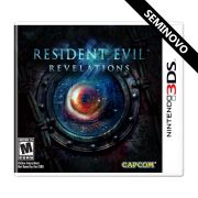 Resident Evil Revelations - 3DS (Seminovo)