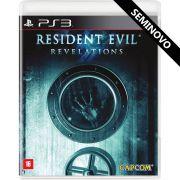 Resident Evil Revelations - PS3 (Seminovo)