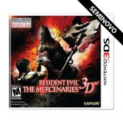 Resident Evil The Mercenaries 3D - 3DS (Seminovo)