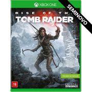 Rise of the Tomb Raider - Xbox One (Seminovo)