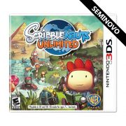 Scribblenauts Unlimited - 3DS (Seminovo)
