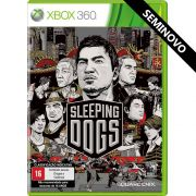 Sleeping Dogs - Xbox 360 (Seminovo)