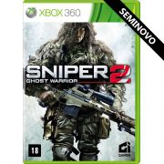 Sniper Ghost Warrior 2 - Xbox 360 (Seminovo)