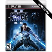 Star Wars The Force Unleashed 2 - PS3 (Seminovo)