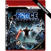 Star Wars The Force Unleashed - PS3 (Seminovo)