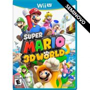 Super Mario 3D World - Wii U (Seminovo)