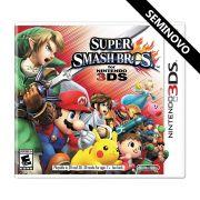 Super Smash Bros - Nintendo 3DS (Seminovo)