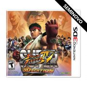 Super Street Fighter IV 3D Edition - 3DS (Seminovo)