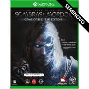 Terra-Média Sombras de Mordor (Game of the Year Edition) - Xbox One (Seminovo)