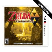 The Legend of Zelda A Link Between World - 3DS (Seminovo)