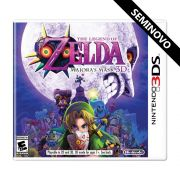 The Legend of Zelda Majoras Mask 3D - 3DS (Seminovo)