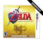 The Legend of Zelda Ocarina of time 3D - 3DS (Seminovo)