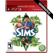 The Sims 3 - PS3 (Seminovo)