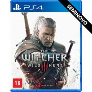 The Witcher 3 Wild Hunt - PS4 (Seminovo)