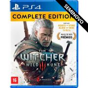 The Witcher III Wild Hunt Complete Edition - PS4 (Seminovo)