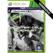 Tom Clancys Splinter Cell Blacklist - Xbox 360 (Seminovo)