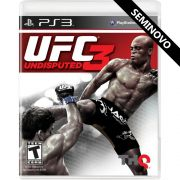 UFC Undisputed 3 - PS3 (Seminovo)