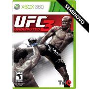 UFC Undisputed 3 - Xbox 360 (Seminovo)