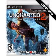 Uncharted 2 Among Thieves - PS3 (Seminovo)