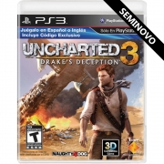 Uncharted 3 Drakes Deception - PS3 (Seminovo)