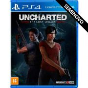 Uncharted The Lost Legacy - PS4 (Seminovo)