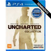Uncharted The Nathan Drake Collection - PS4 (Seminovo)