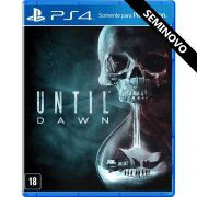 Until Dawn - PS4 (Seminovo)