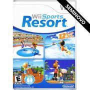 Wii Sports Resort - Wii (Seminovo)