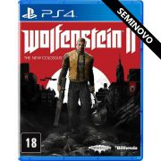 Wolfenstein 2 The New Colossus - PS4 (Seminovo)