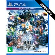 World of Final Fantasy - PS4 (Seminovo)
