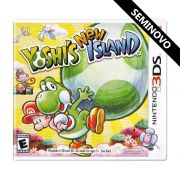 Yoshis New Island - 3DS (Seminovo)