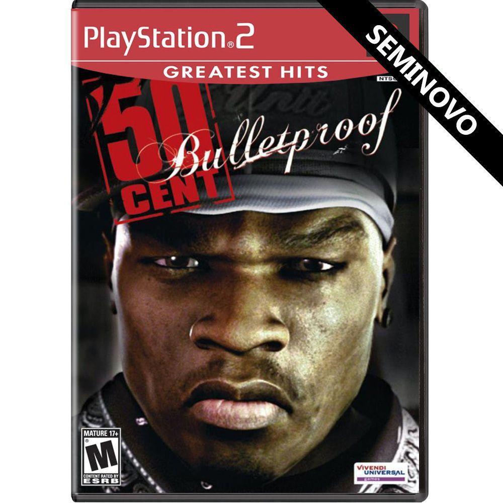 50 Cent Bulletproof (Greatest Hits) - PS2 (Seminovo)