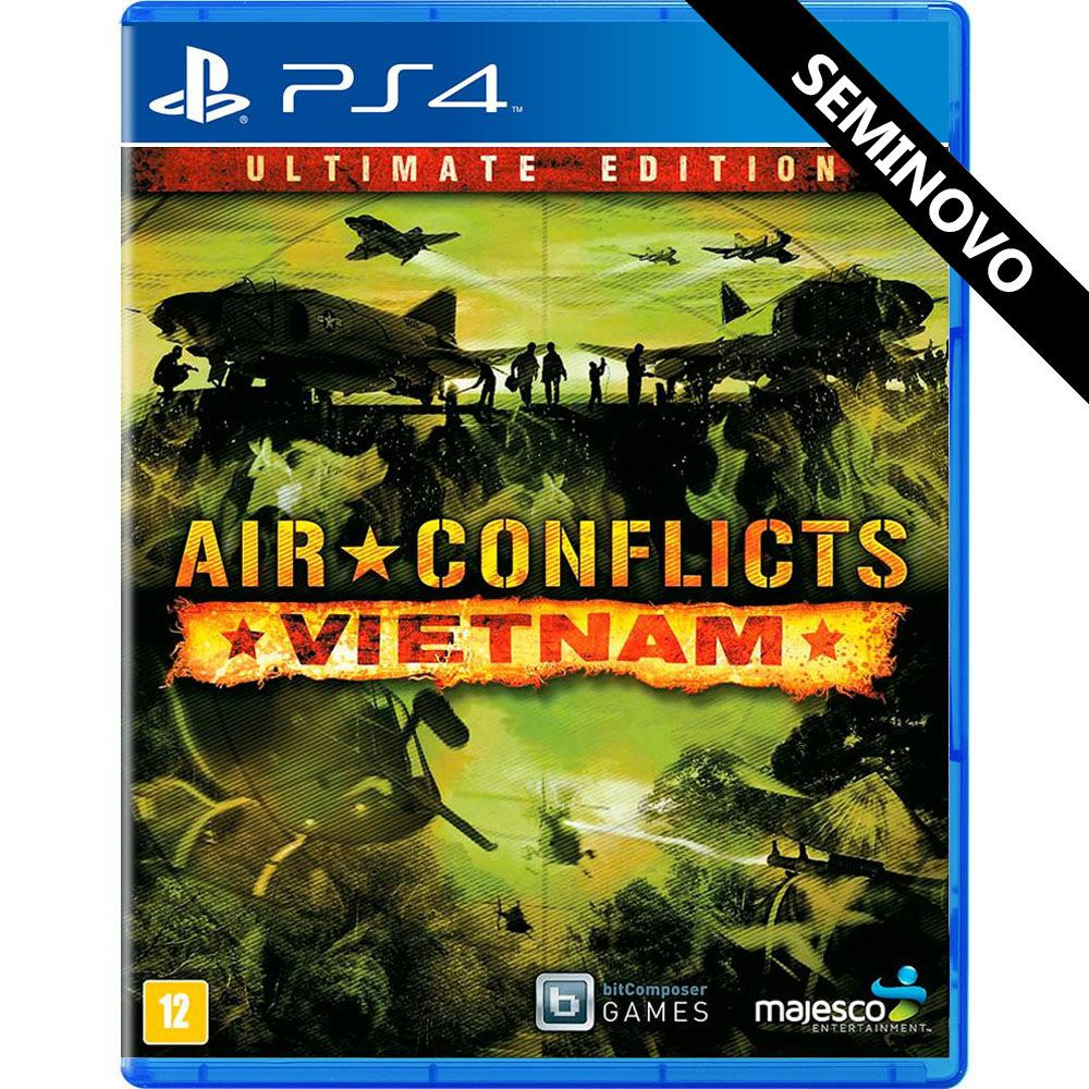 Air Conflicts Vietnam Ultimate Edition - PS4 (Seminovo)