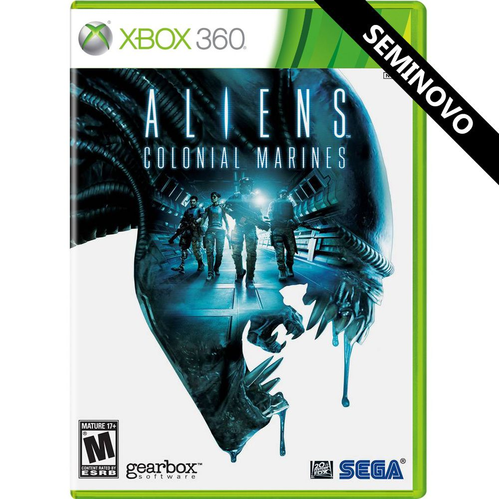Aliens Colonial Marines - Xbox 360 (Seminovo)