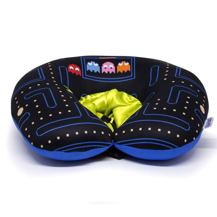 Almofada de Pescoço com Capuz Pac-Man