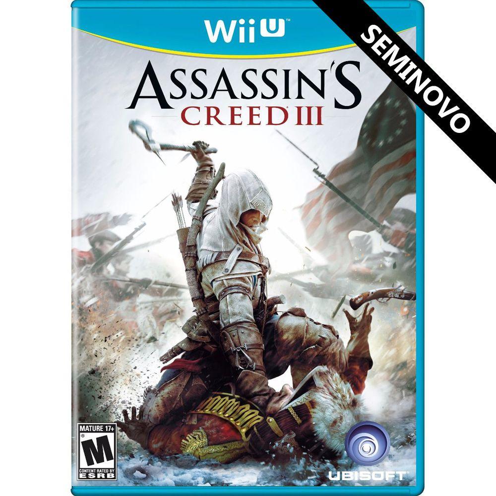 Assassin's Creed III - Wii U (Seminovo)