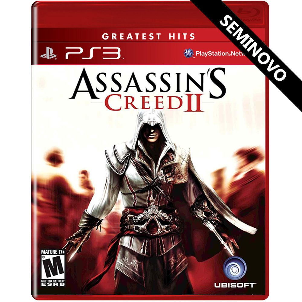 Assassin's Creed II - PS3 (Seminovo)